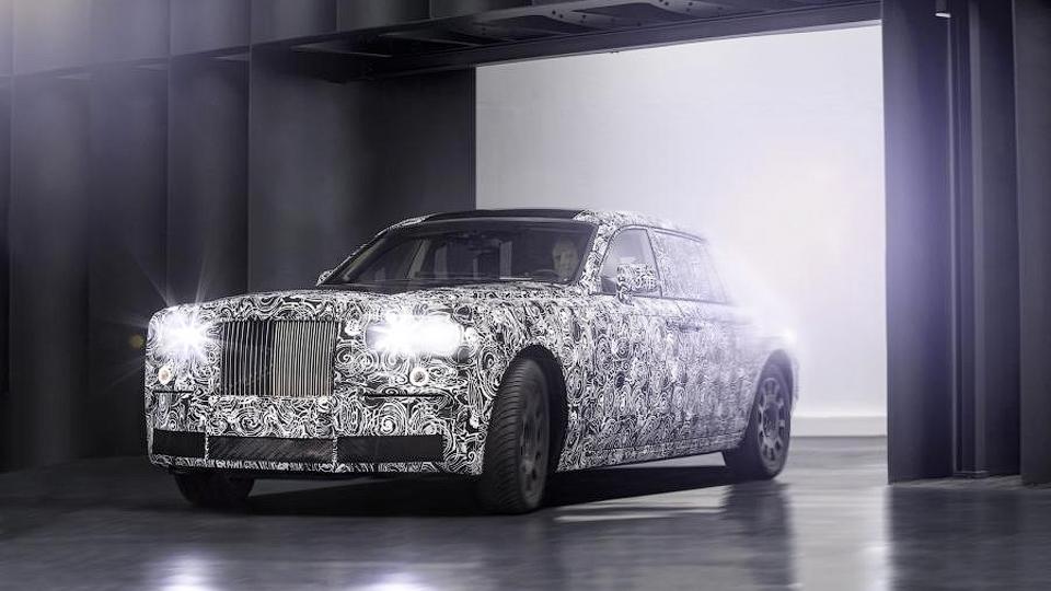 Rolls-Royce приступит к дорожным тестам собственной платформы