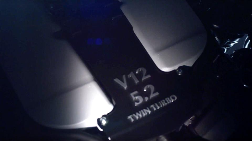 Aston Martin подтвердил разработку турбомотора V12