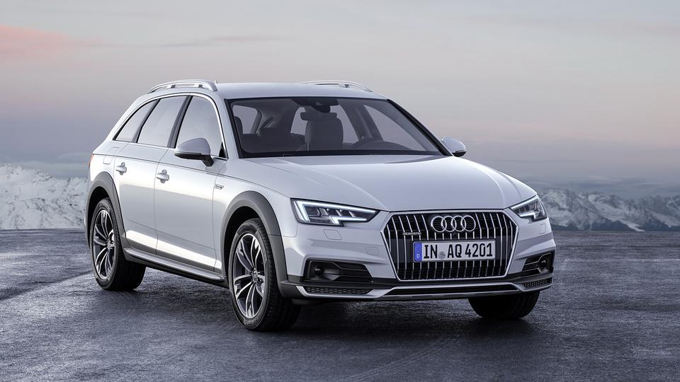 Новый универсал Audi A4 получил вседорожную версию