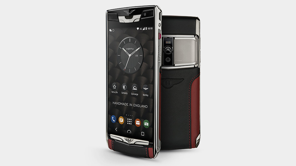Компания Vertu сделала для Bentley Android-смартфон