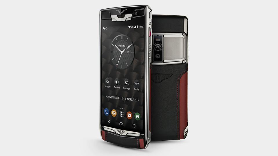 Компания Vertu сделала для Bentley Android-смартфон