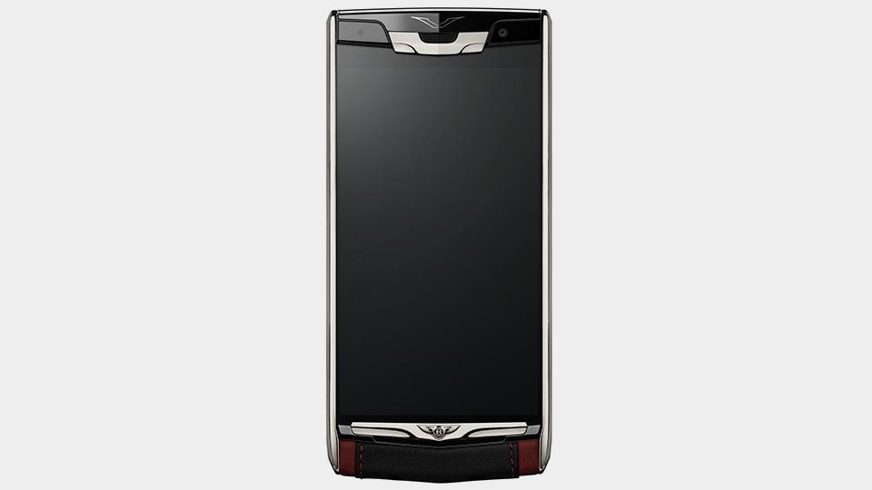 Представлен телефон Vertu Signature Touch for Bentley. Фото 1