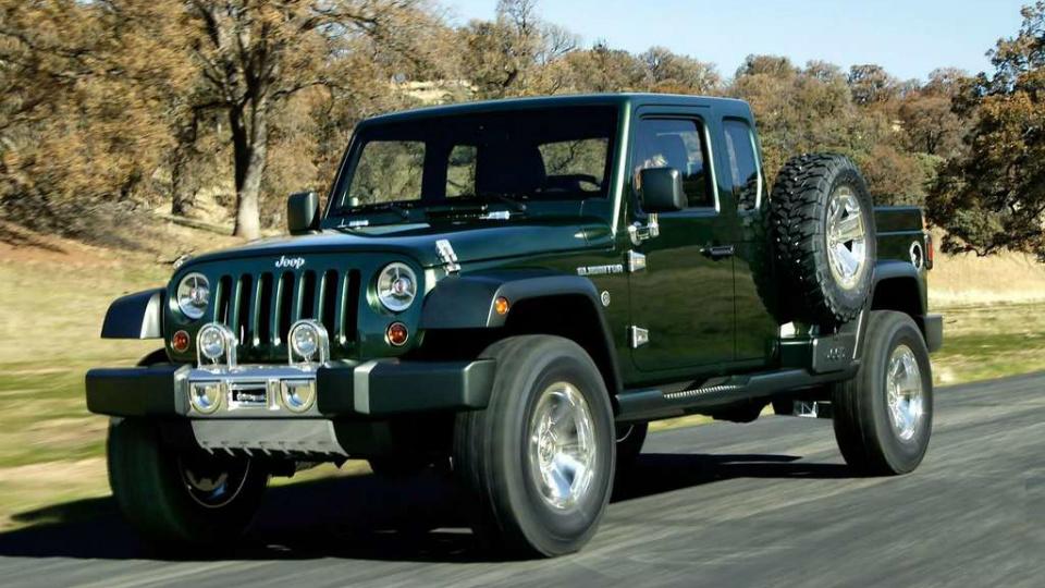 Пикапу на базе Jeep Wrangler дали «зеленый свет»