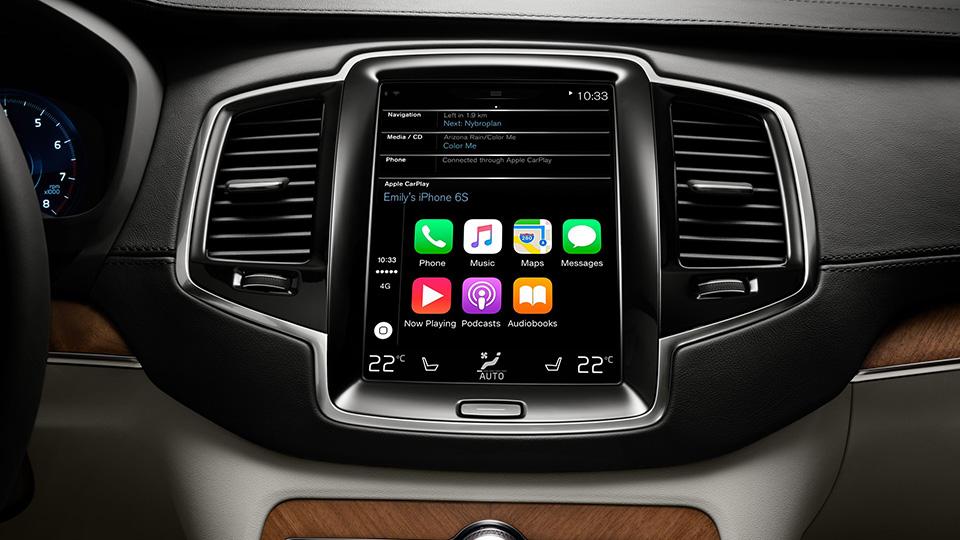 Компания Apple опубликовала список машин с CarPlay