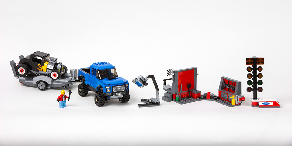 Lego выпустили новые наборы из серии Speed Masters