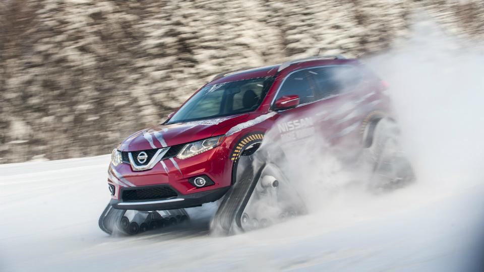 Nissan построил гусеничный X-Trail