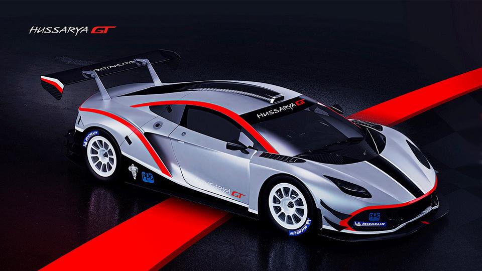 Первый польский суперкар подготовили для гонок