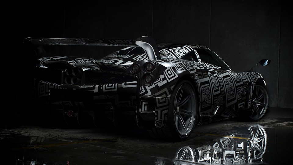 «Заряженный» суперкар Pagani Huayra покажут в марте