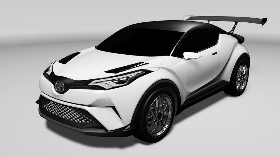 Toyota выставит на «24 часа Нюрбургринга» гоночный кроссовер