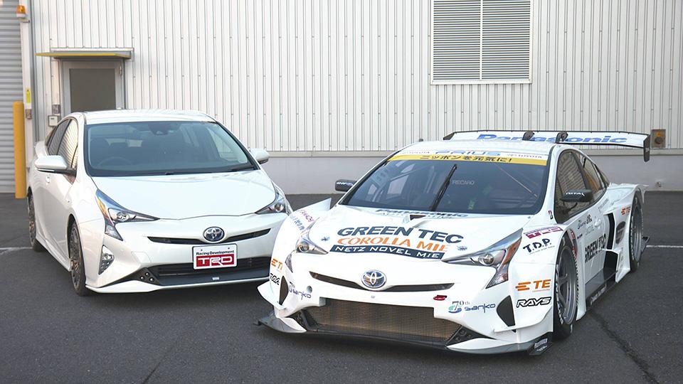 Японцы сделали спортпрототип с дизайном нового «Приуса»