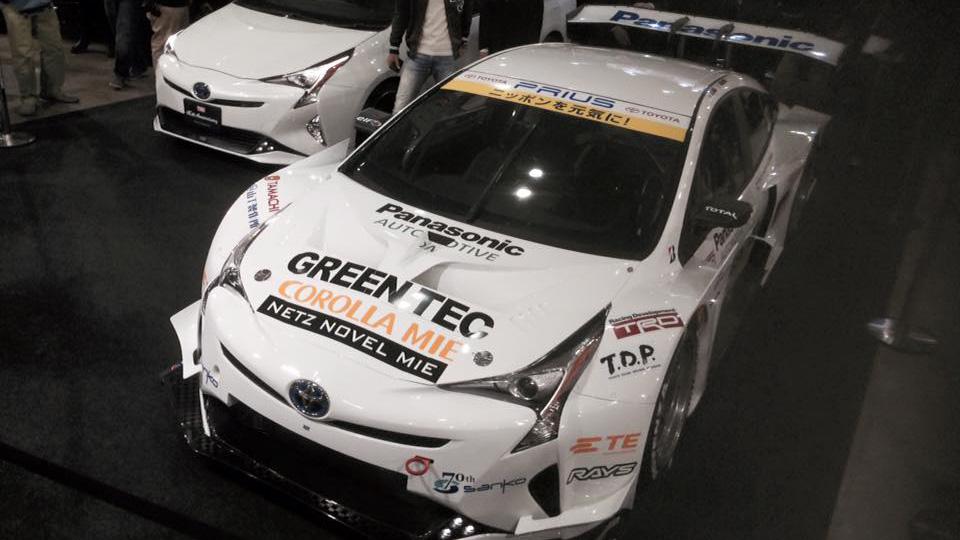 Прототип Toyota Pirus выступит в японской серии Super GT