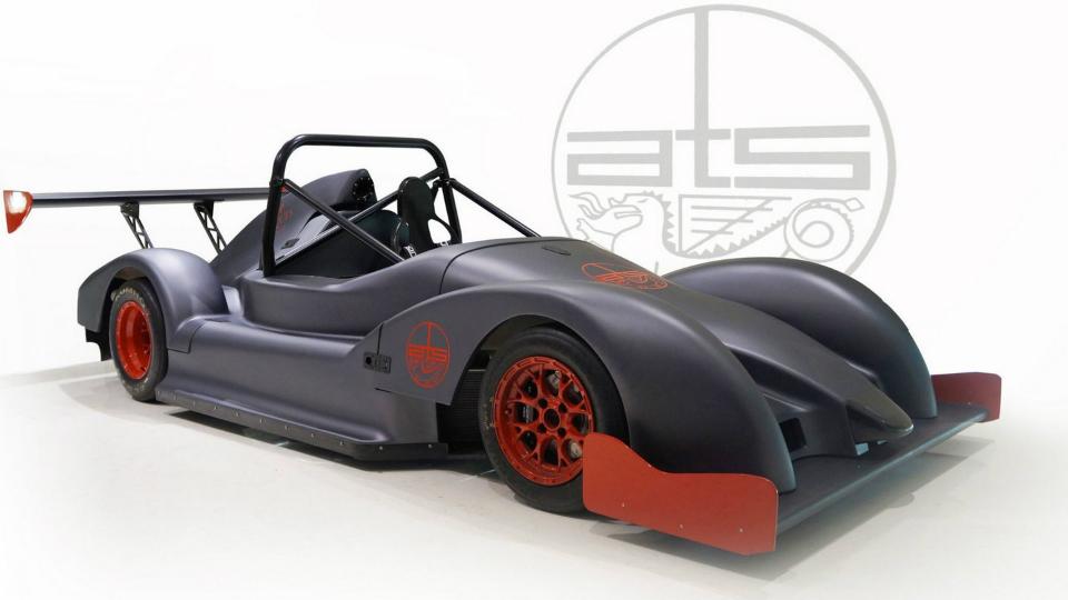 Компания ATS построила трековый спорткар с мотоциклетным мотором