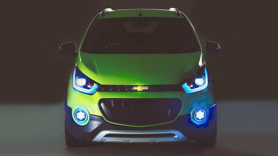 Chevrolet покажет «вседорожный» компактный хэтчбек
