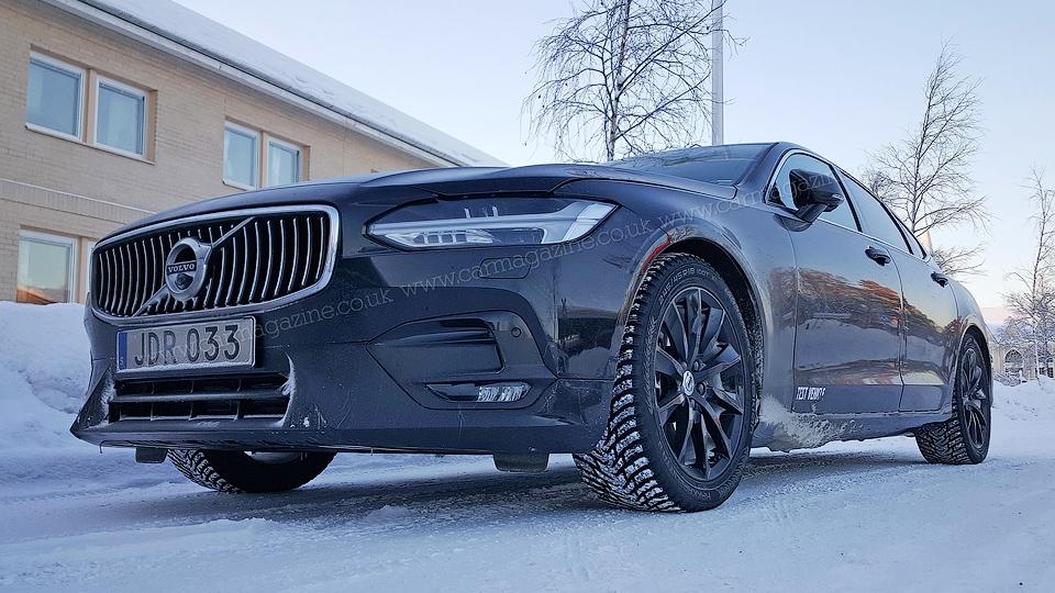 Volvo S90 сфотографировали со спорт-пакетом R-Design