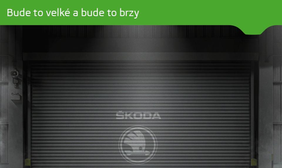 Чехи опубликовали первый тизер вседорожника Kodiak
