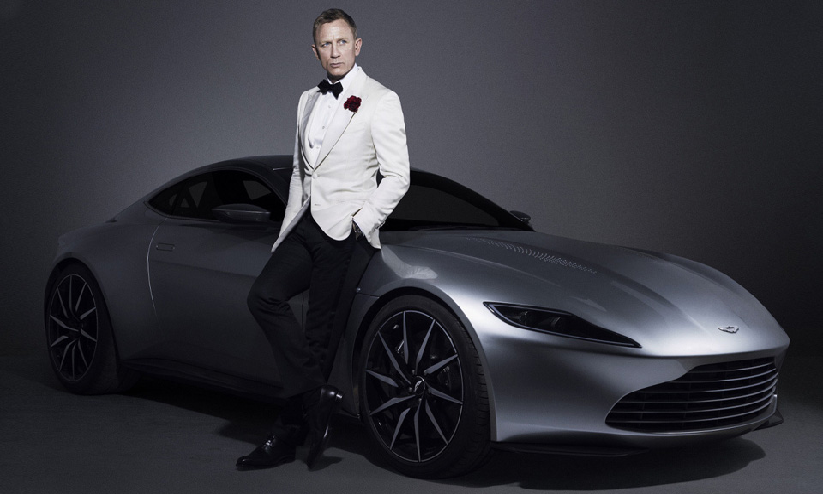 Aston Martin DB10 Джеймса Бонда продадут за 2,1 миллиона долларов