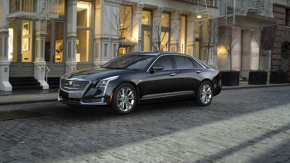 Cедану Cadillac CT6 добавят новую  твин-турбо «восьмерку»