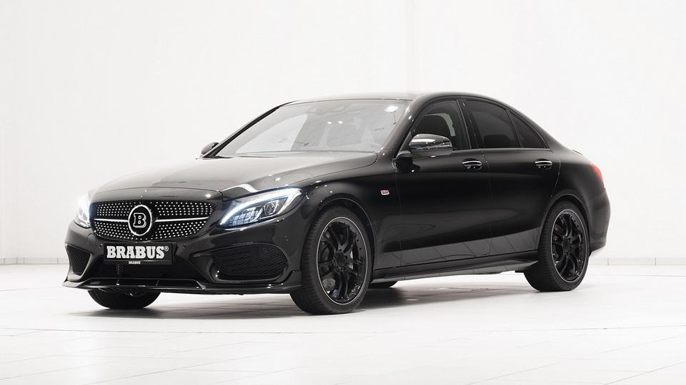 Brabus сделал «подогретый» Mercedes-Benz C450 AMG еще мощнее