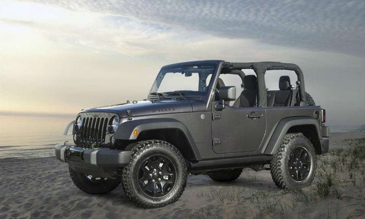 Американцы построят армейский внедорожник на базе Jeep Wrangler