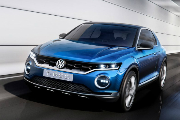Volkswagen готовит конкурента Nissan Juke (4 фото) (1)