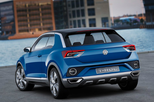 Volkswagen готовит конкурента Nissan Juke (4 фото) (3)