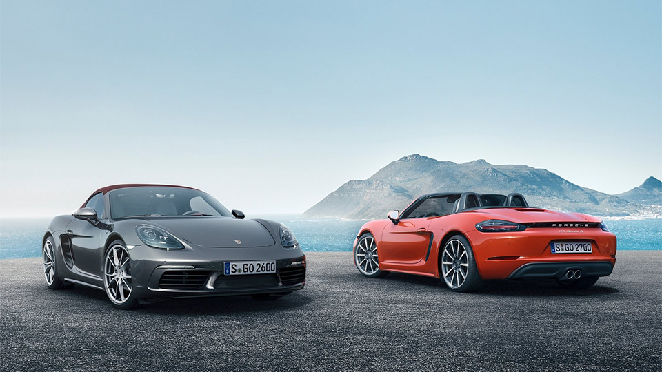 Porsche Boxster получил две «турбочетверки»