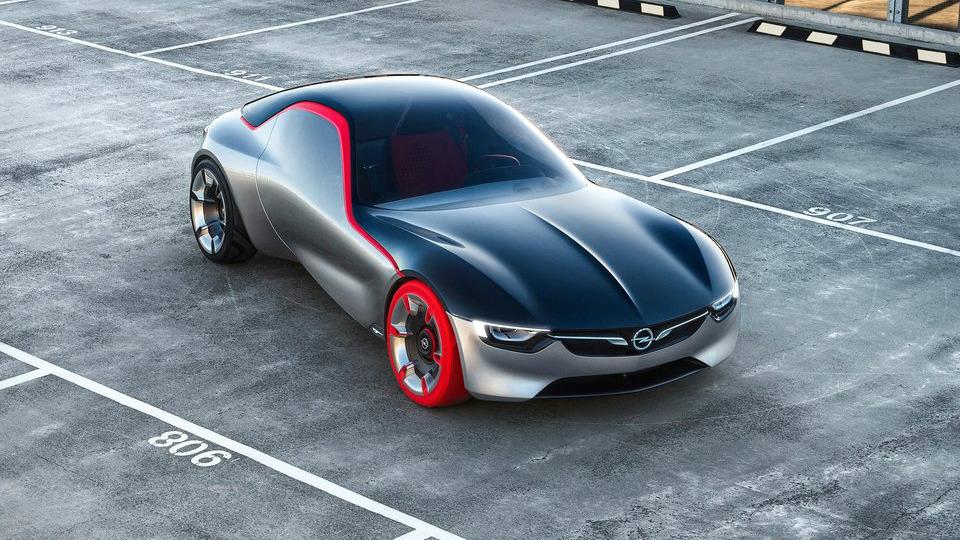 Opel GT выпустили в честь одноименной классической модели 60-х годов . Фото 4