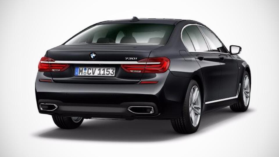 BMW 7-Series оснастили двухлитровой «четверкой»