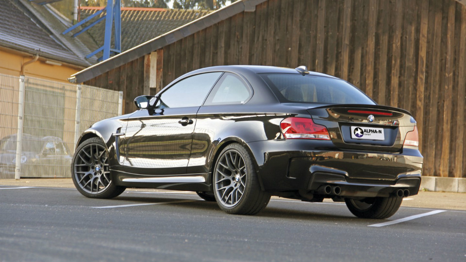 Ателье Alpha-N Performance доработало купе BMW 1-Series M Coupe