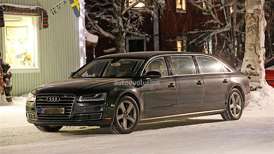 Audi A8 сделают шестидверным лимузином