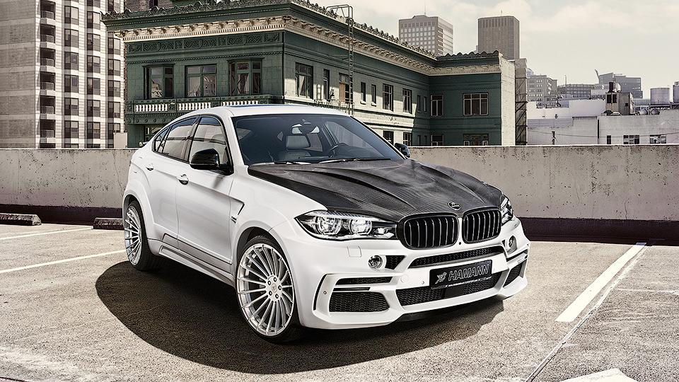 Ателье Hamann подготовило свои версии BMW X4 и X6