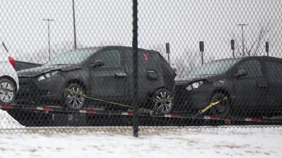 Тестовый прототип заметили на дорожных испытаниях в США
