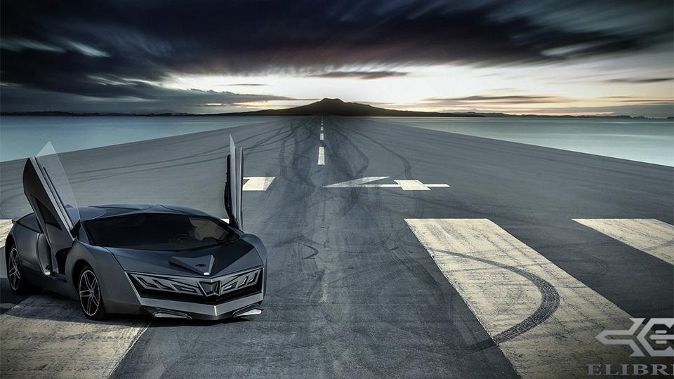 Прототип суперкара компании Elibriea дебютировал в Дохе