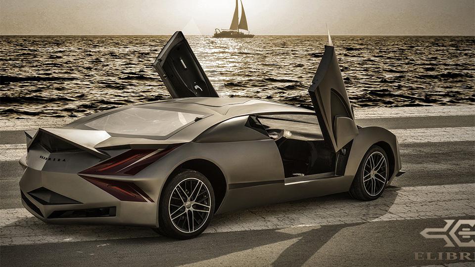 Прототип суперкара компании Elibriea дебютировал в Дохе. Фото 2