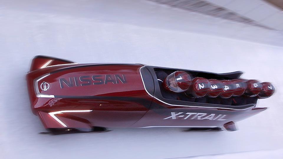 Европейские дизайнеры Nissan создали спортивные сани