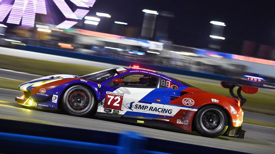 Экипаж SMP Racing столкнулся с техническими проблемами