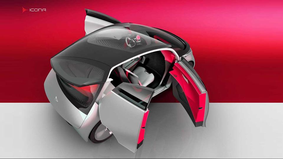 Компания Icona представила концепт-кар Neo