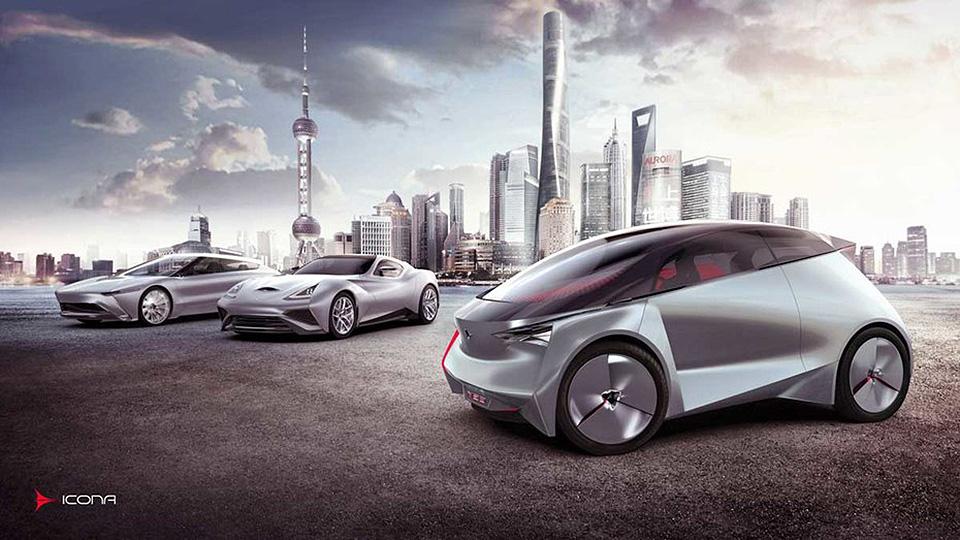 Компания Icona представила концепт-кар Neo. Фото 1