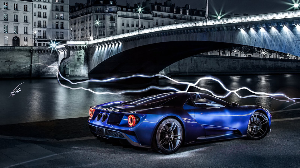 ����� �������� ������� ��� ������� Ford GT ������ ���������. ���� 1