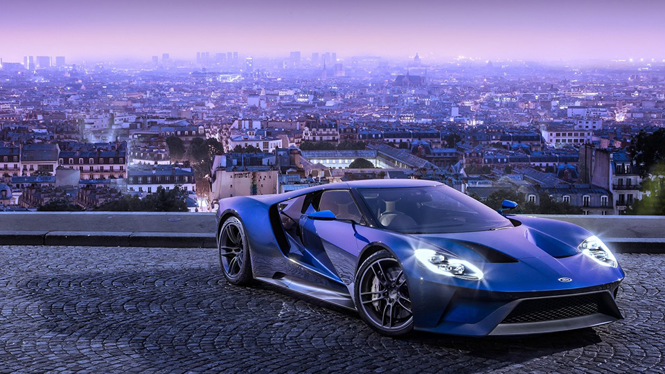 ����� �������� ������� ��� ������� Ford GT ������ ���������
