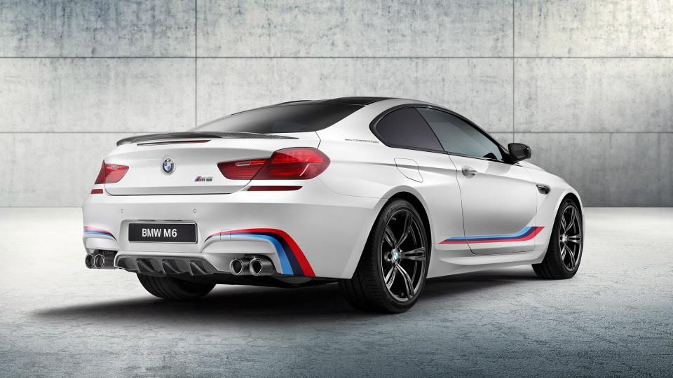 Объявлены цены на 600-сильное купе BMW M6 Competition Edition