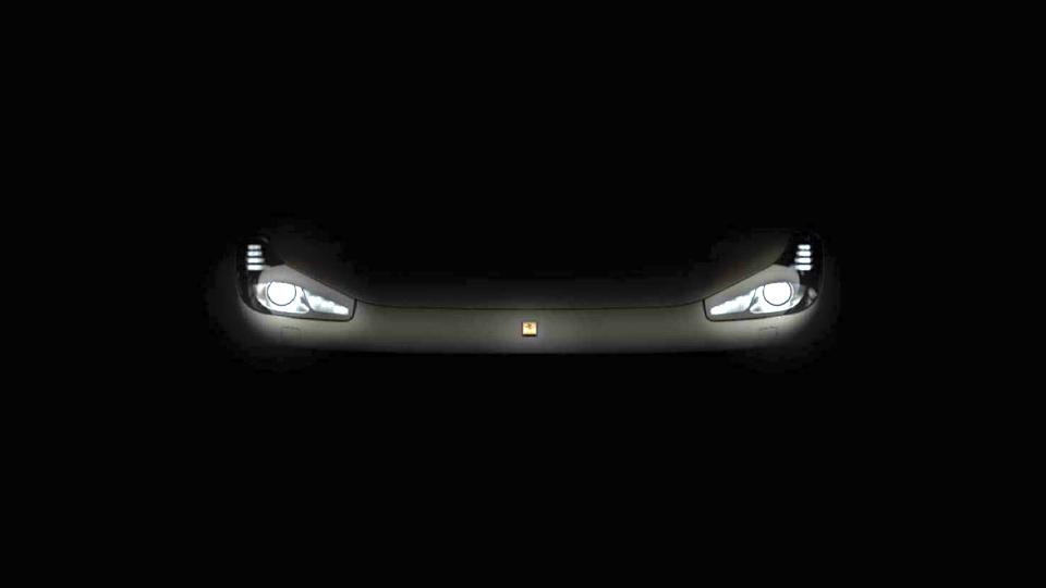 Компания Ferrari показала оптику обновленного суперкара FF