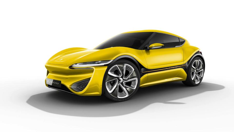 NanoFlowcell представит в Женеве обновленный «квантовый» спорткар