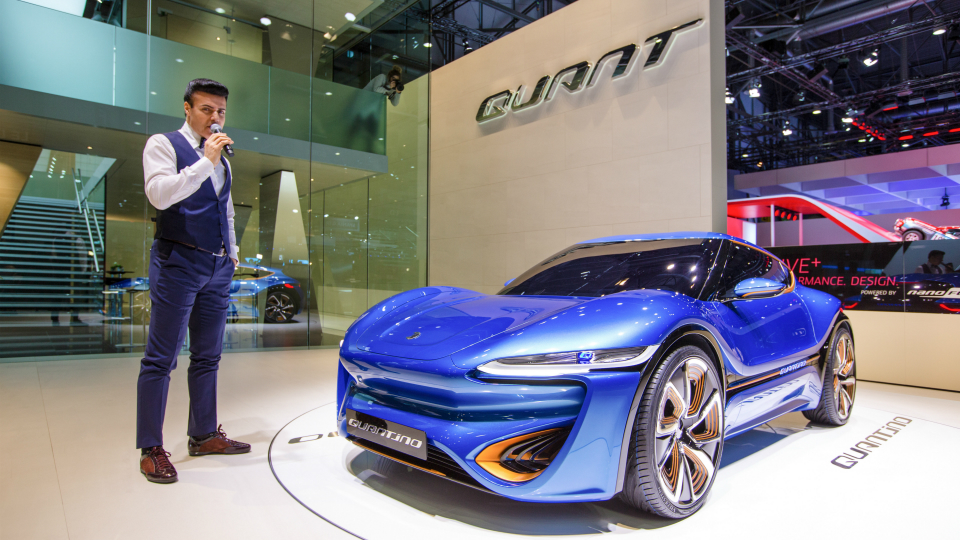 На автосалоне дебютируют новые версии моделей Quant и Qunatino