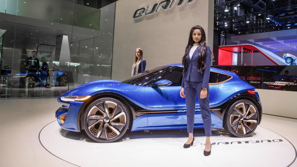 На автосалоне дебютируют новые версии моделей Quant и Qunatino. Фото 1
