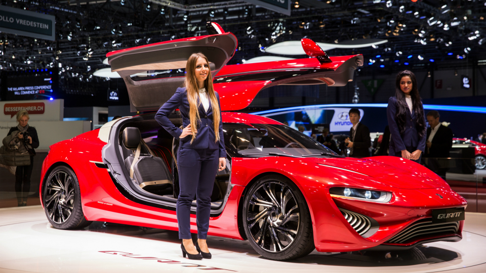На автосалоне дебютируют новые версии моделей Quant и Qunatino. Фото 3