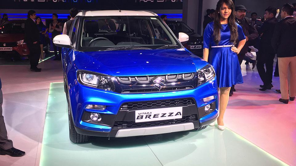 Индийский офис Suzuki сделал конкурента Ford EcoSport