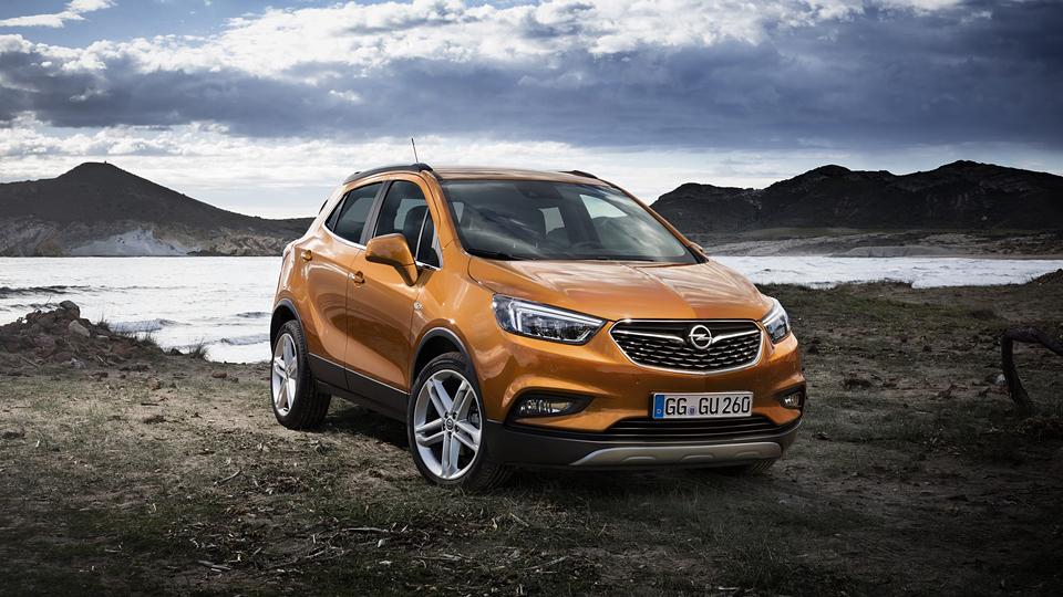 Компания Opel впервые обновила кроссовер Mokka