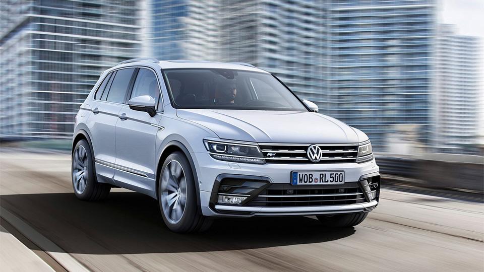 VW подтвердил разработку нескольких «Тигуанов»