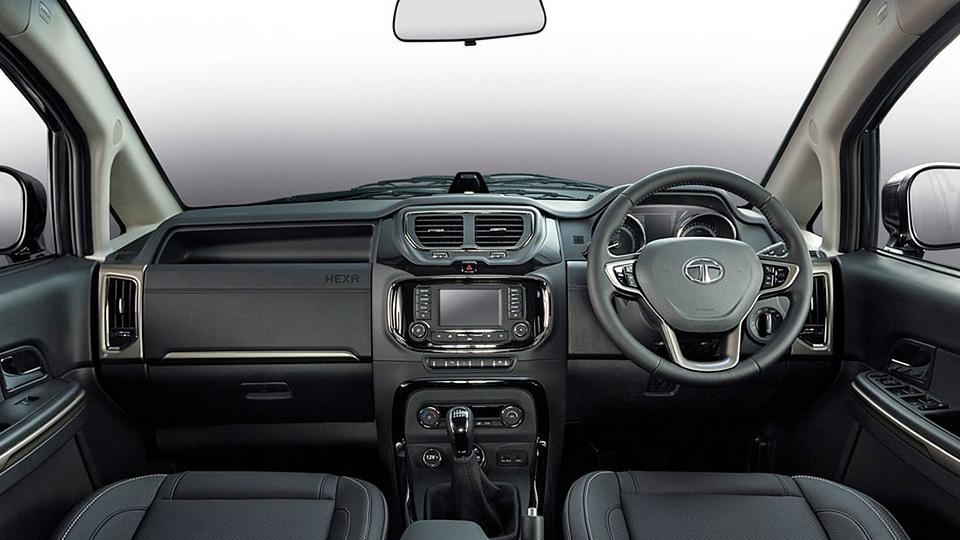В Нью-Дели дебютировала модель Tata Hexa. Фото 1
